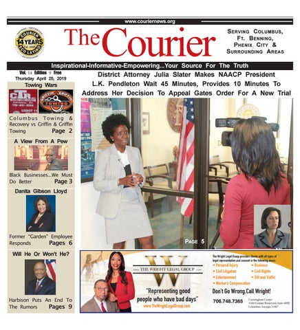 The Courier Eco Latino Newspaper 04-25-2019 by