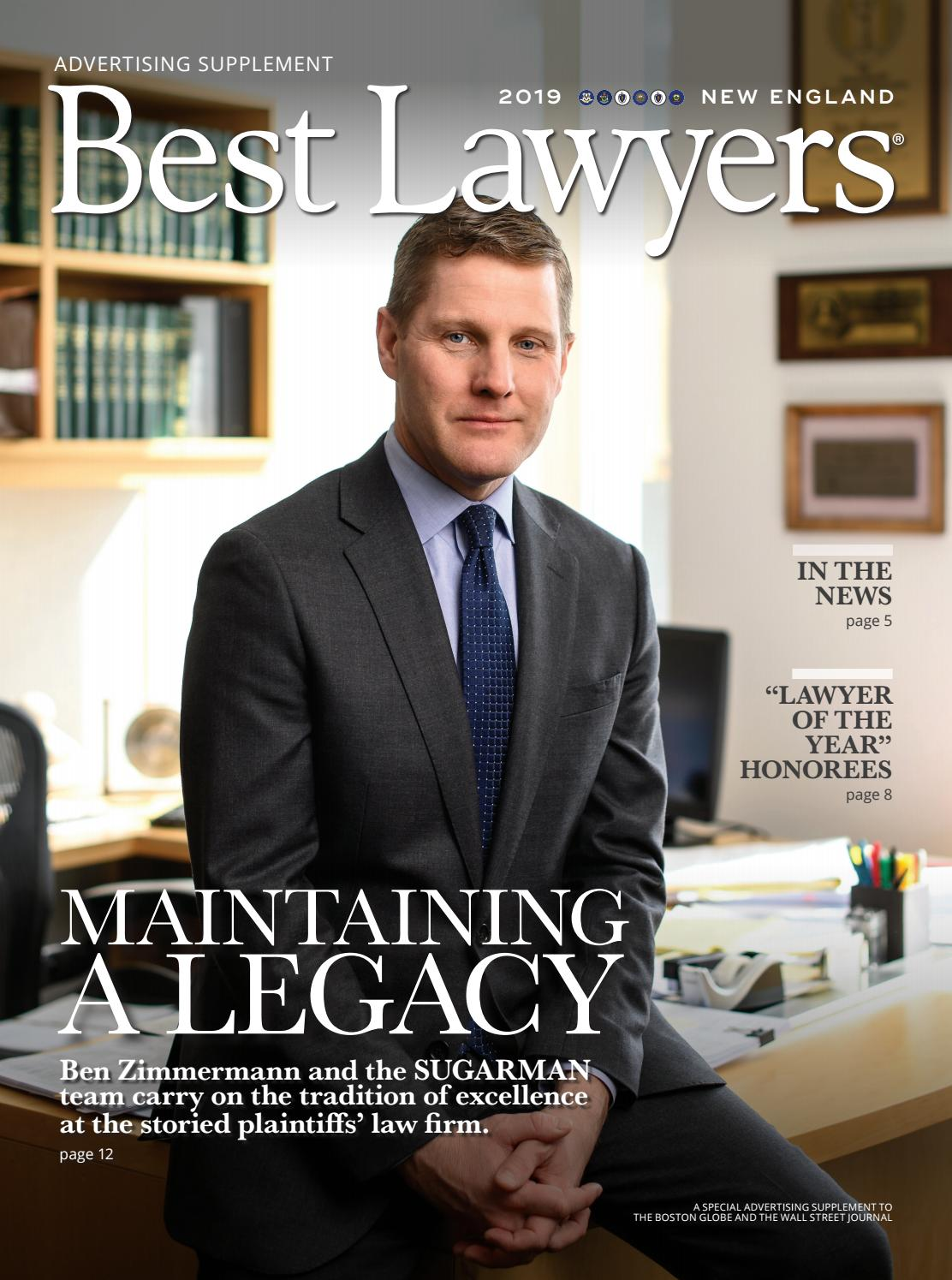 The Best Lawyers In New England 2019 By Best Lawyers Issuu
