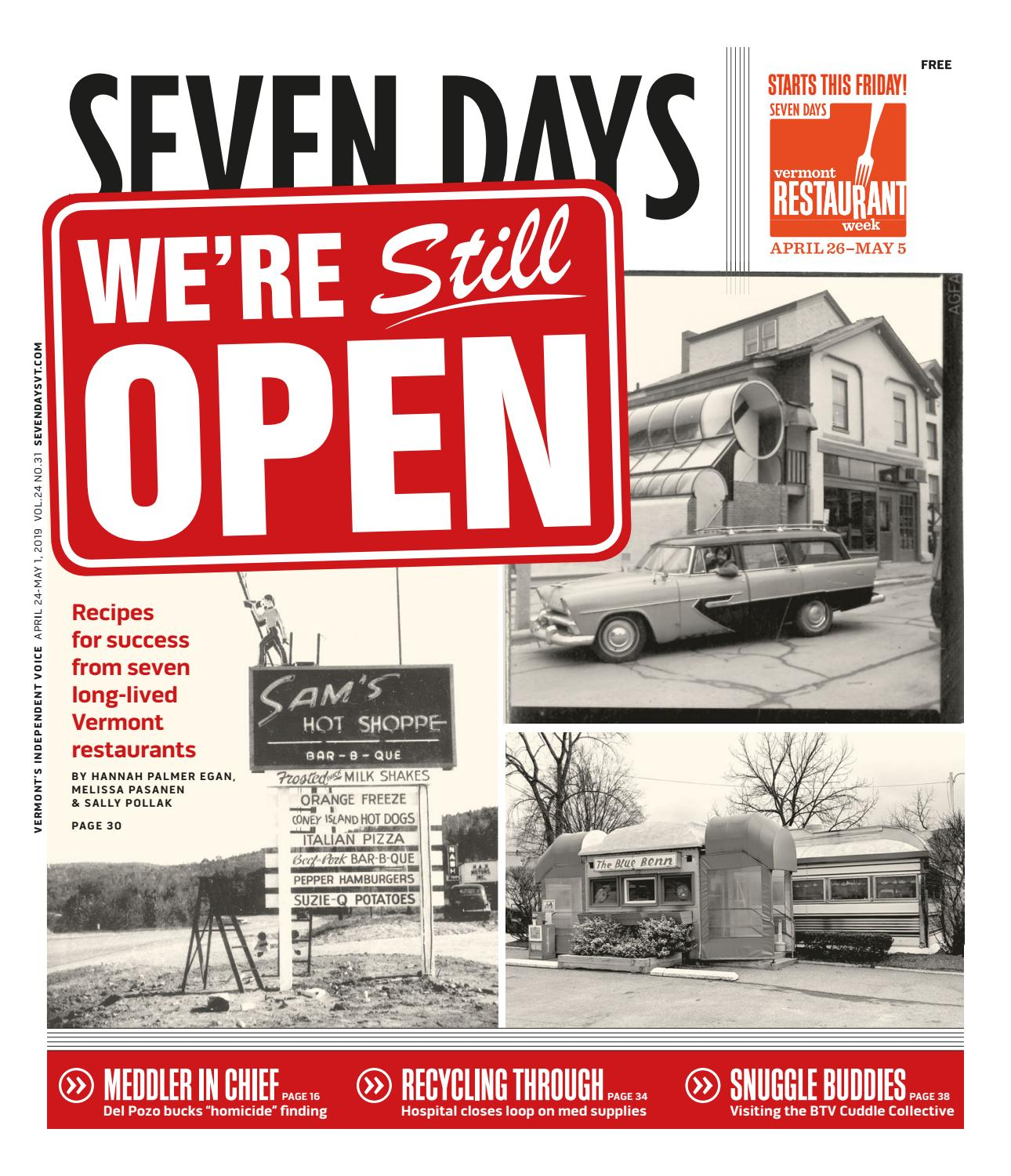 Seven Days, July 24, 2019 by Seven Days issuu