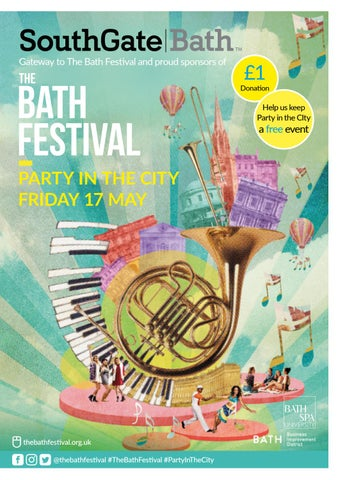 Party in the City 2019 Programme by Bath Festivals - issuu