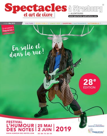 Spectacles By Publications Strasbourg 2019 Mai N°222 D2YHIE9W