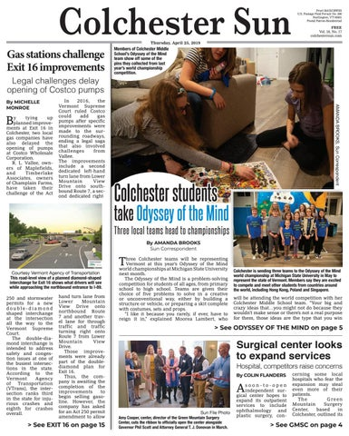 Colchester Sun: April 25, 2019 by Colchester Sun - issuu