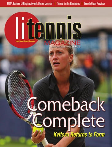 fe056bc17b Long Island Tennis Magazine May - June 2019 by NMP Media Corp. - issuu
