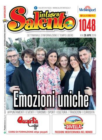 Titti Bianchi Calendario.Salento In Tasca 1048 By Salento In Tasca Issuu