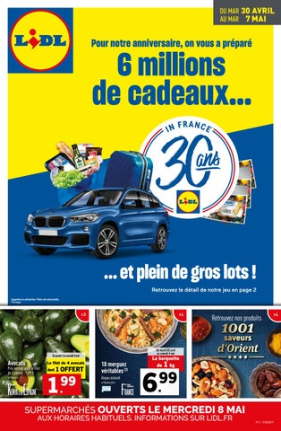 Catalogue Lidl Du 30 Avril Au 7 Mai 2019 By