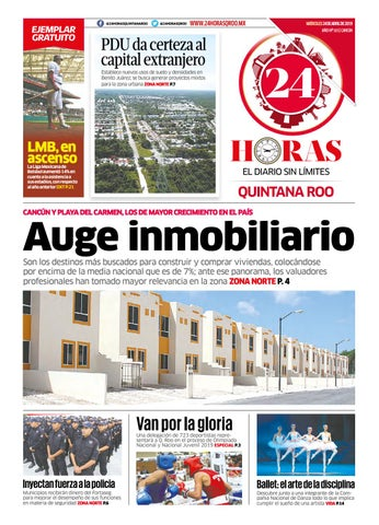 1e1addebe8 24 Horas Quintana Roo  24 de Abril 2019 by 24 Horas Quintana Roo - issuu