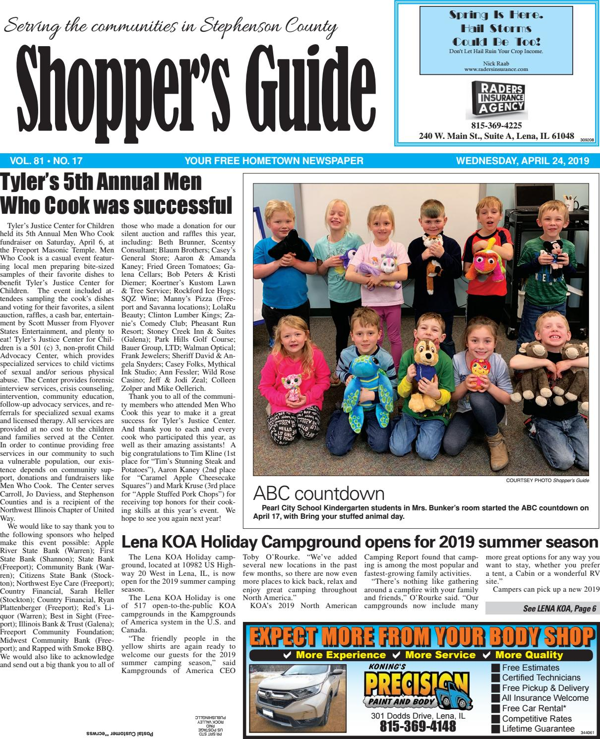 Sg42419 By Southern Lakes Newspapers Rock Valley Publishing Issuu