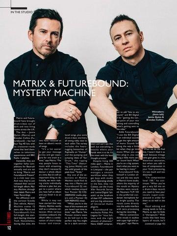 Page 12 of In the Studio With Matrix & Futurebound