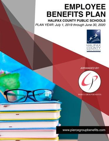 Halifax County Public Schools 2019 Booklet - 19-20 PY