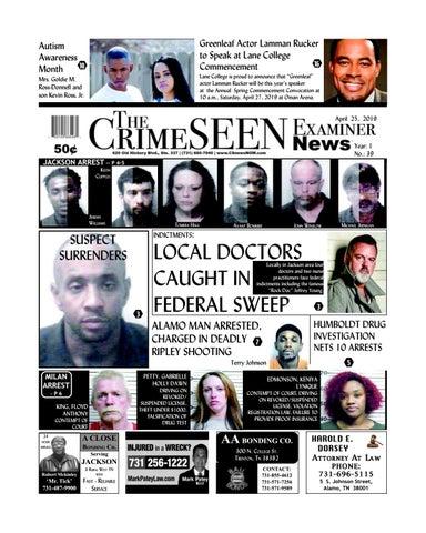 The CrimeSEEN Examiner News April 25, 2019 by CrimeSEEN Examiner - issuu