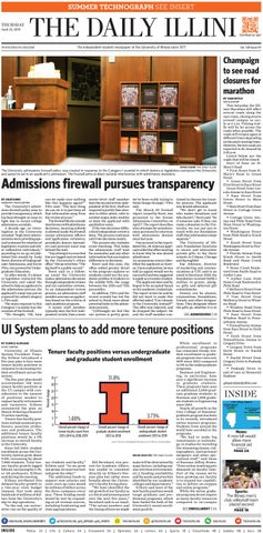 The Daily Illini: Volume 148 Issue 59 by The Daily Illini