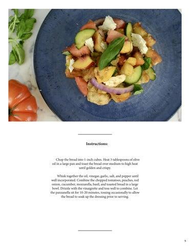 Page 11 of Peach Panzanella Salad