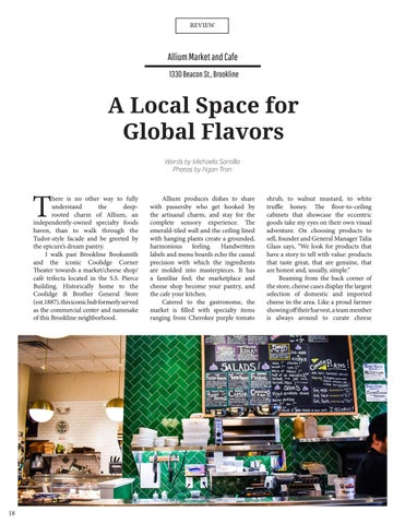 Page 20 of Allium Market and Cafe: A Local Space for Global Flavors