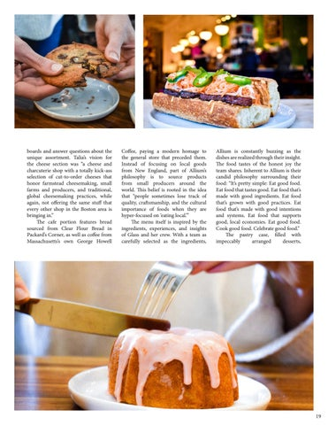 Page 21 of Allium Market and Cafe: A Local Space for Global Flavors