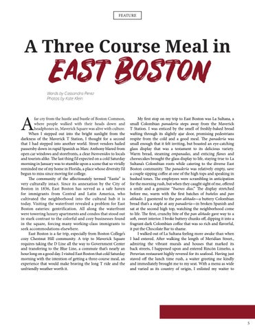 Page 7 of A Three Course Meal in East Boston