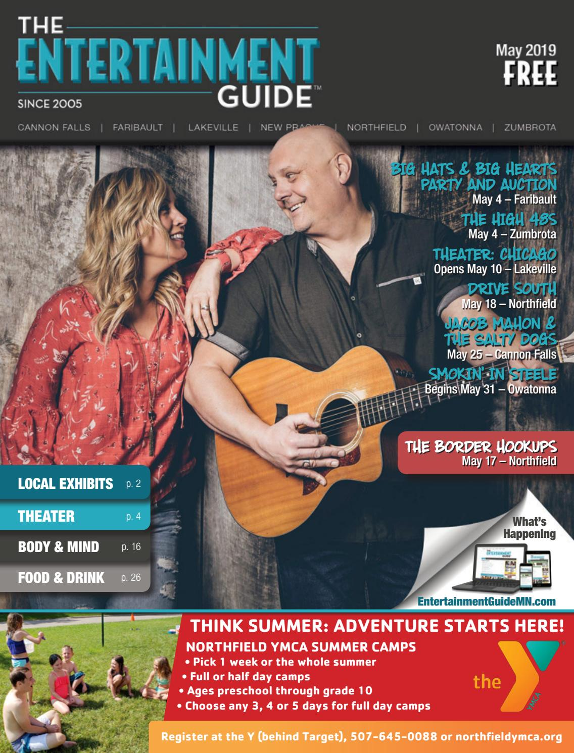 7fdda9a819b May 2019 Entertainment Guide by The Entertainment Guide - issuu