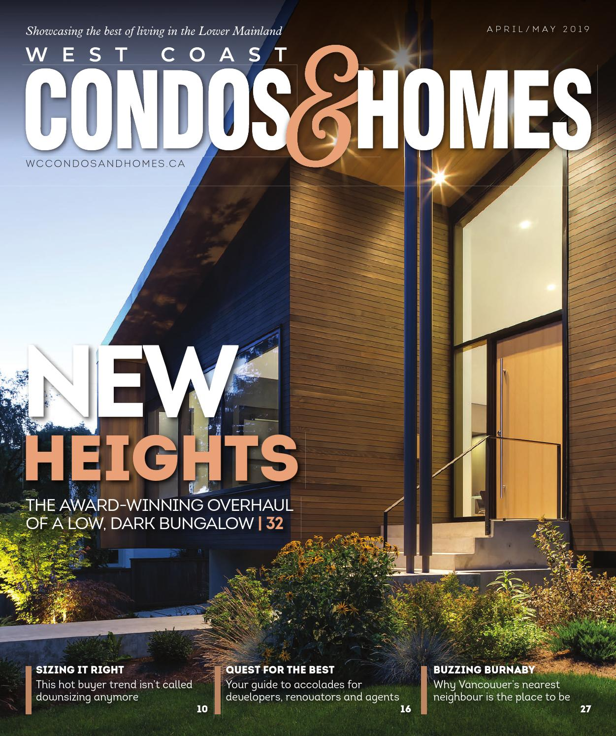 WEST COAST CONDOS & HOMES APRIL/MAY 2019 by Real Estate