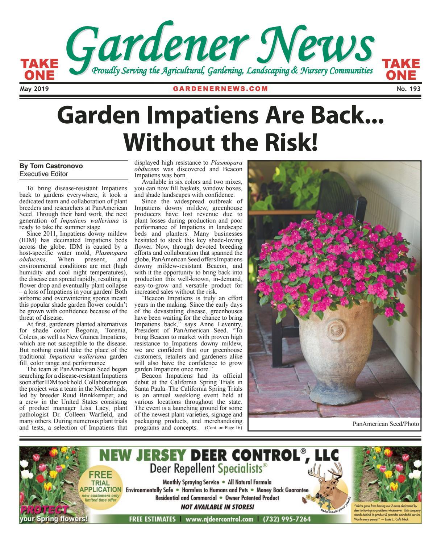 Gardener News May 2019 by Gardener News - issuu