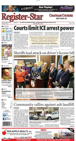 eedition Register-Star April 25 2019 by Columbia-Greene