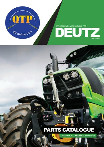 deutz replacement parts suitable for  tractors