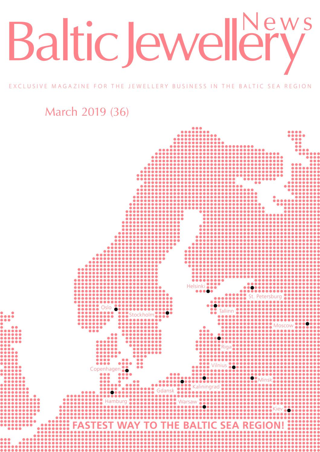 Baltic Jewellery News March 2019 No 36 By Baltic