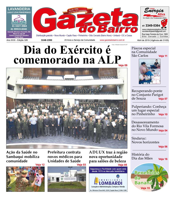 159b7678b Gazeta do Bairro Abril 2019 by Gazeta do Bairro - issuu