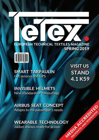 23353141a4f92 Tetex Magazine - Spring 2019 | Techtextil & Texproces Edition by ...