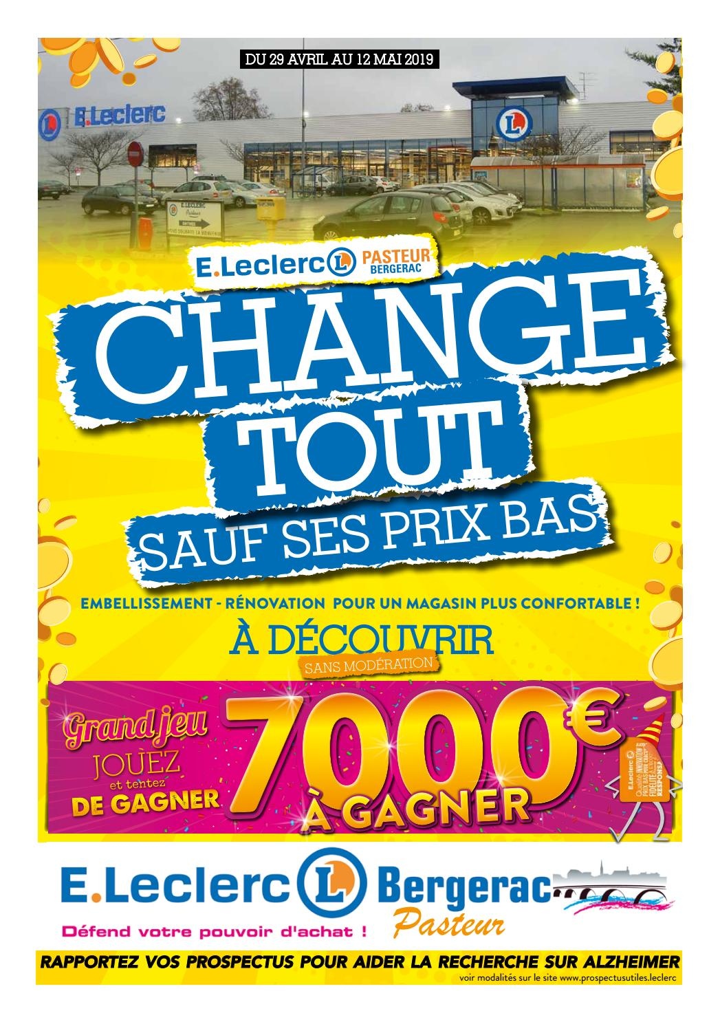 Centre E.Leclerc Pasteur de Bergerac - Des prix fous sur ...