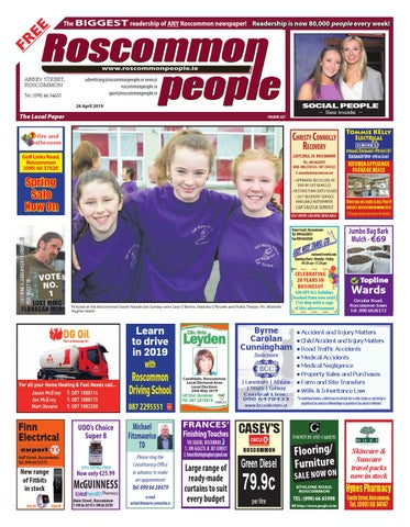 2019 04 26 by Roscommon People - issuu