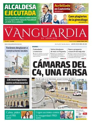 6b3a264cc Diario Vanguardia de Veracruz 25 de abril 2019 by Vanguardia ...