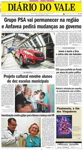 517ca05c32a 9032 - Diario - Quinta-feira - 25.04.2019 by Diário do Vale - issuu