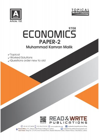 A Level Economics Paper 2 by readandwrite marketing - issuu