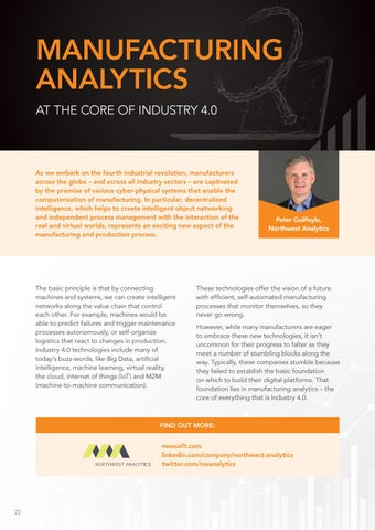 Page 22 of Manufacturing Analytics