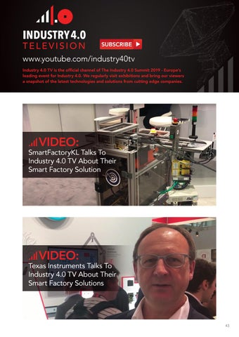 Page 43 of Industry 4.0 Television