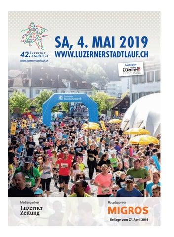 Programmheft 42  Luzerner Stadtlauf 2019 by Luzerner