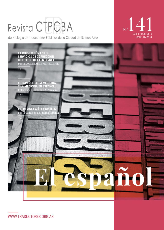 76a03df60c7 Revista CTPCBA N.° 141 by Colegio de Traductores Públicos de la Ciudad de  Buenos Aires - issuu