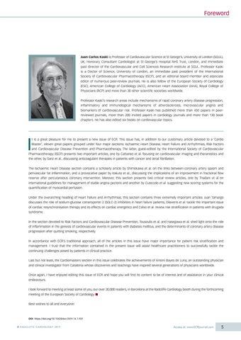 Page 7 of Foreword - Juan Carlos Kaski