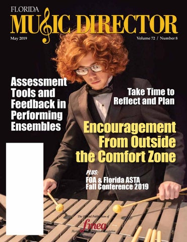 Florida Music Director May 2019 by Center for Fine Arts