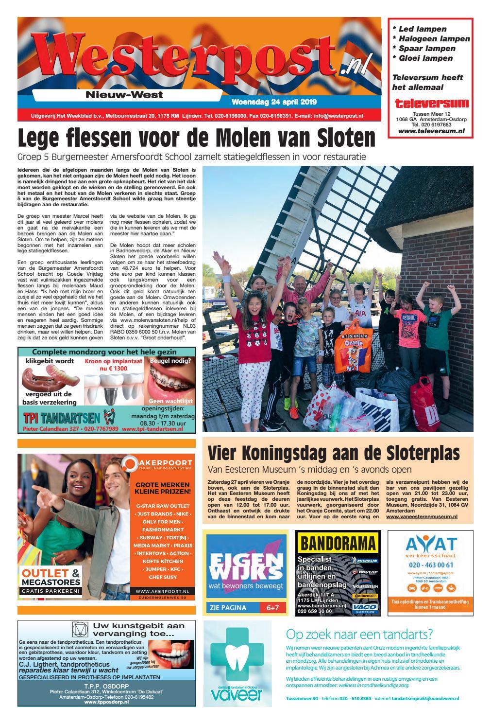 Blokker Dukaten Geldig Tot.Westerpost 24 April 2019 By Westerpost Issuu