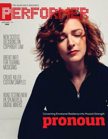 Performer Magazine: April/May 2019 by Performer Magazine - issuu