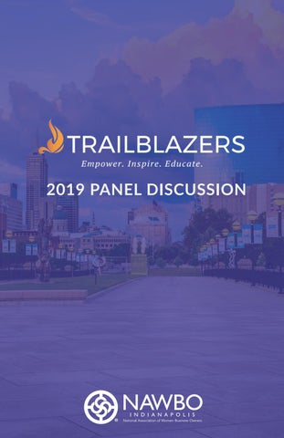 NAWBO-Indianapolis 2019 Trailblazers by nawboindy - issuu