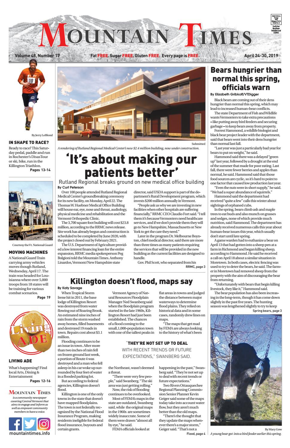 Mountain Times April 24-30, 2019 by Polly Lynn - issuu