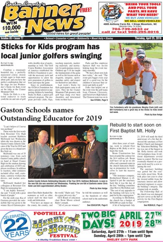 Banner-News 4-25-19 by Community First Media - issuu