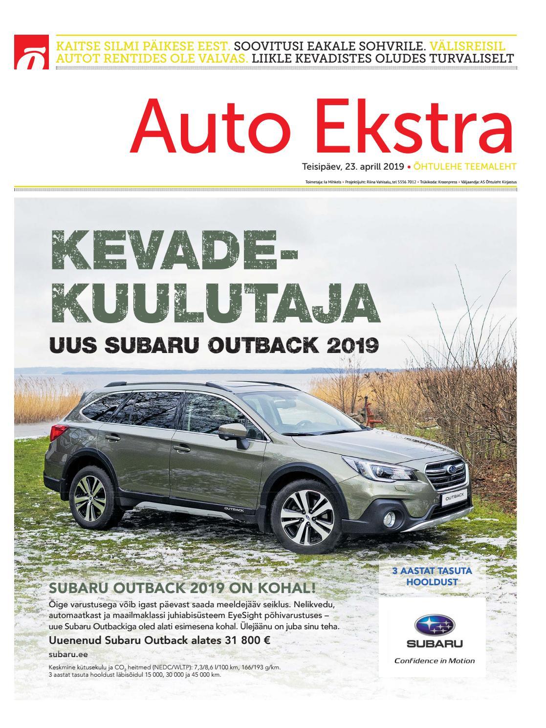 0a472d9987a Auto Ekstra aprill 2019 by SL Õhtuleht AS - issuu