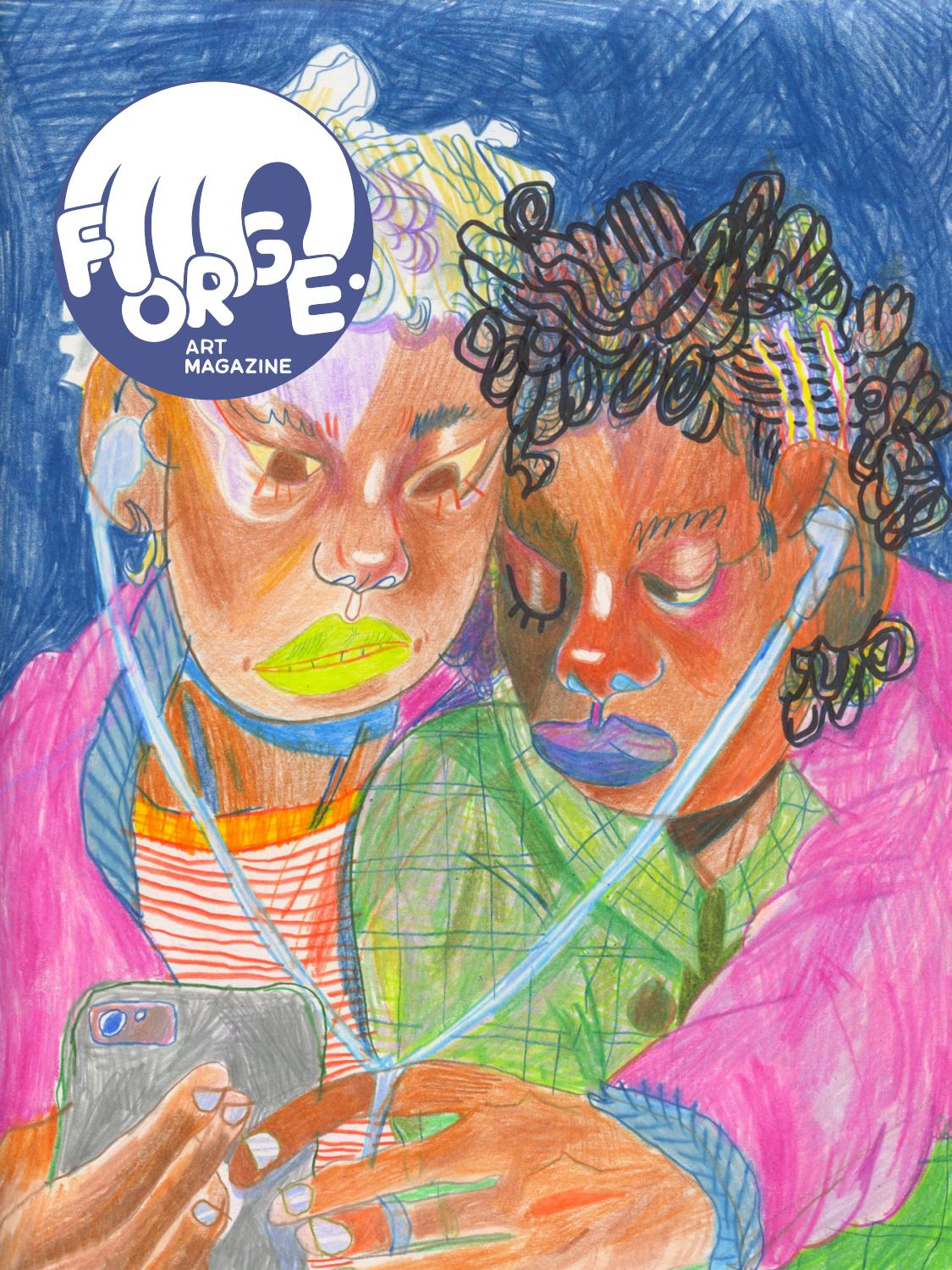 FORGE  Issue 22: Intimacy by FORGE  Art Magazine - issuu