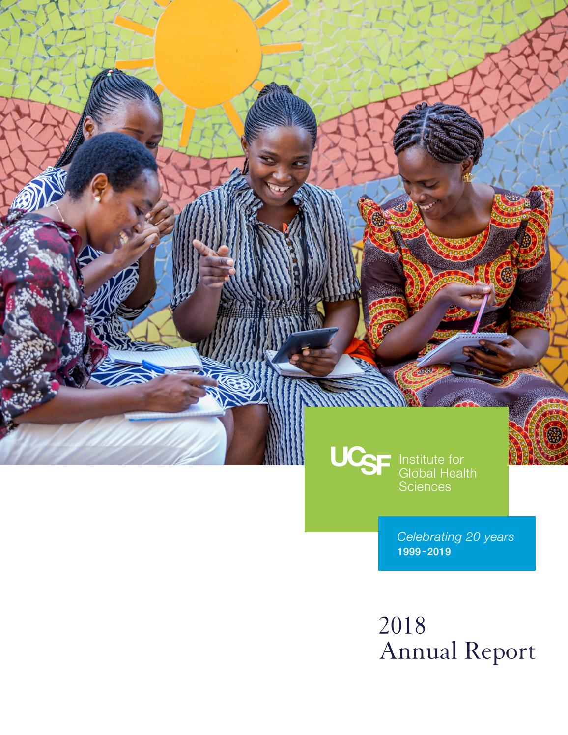 UCSF Institute for Global Health Sciences Annual Report 2018 by IGHS