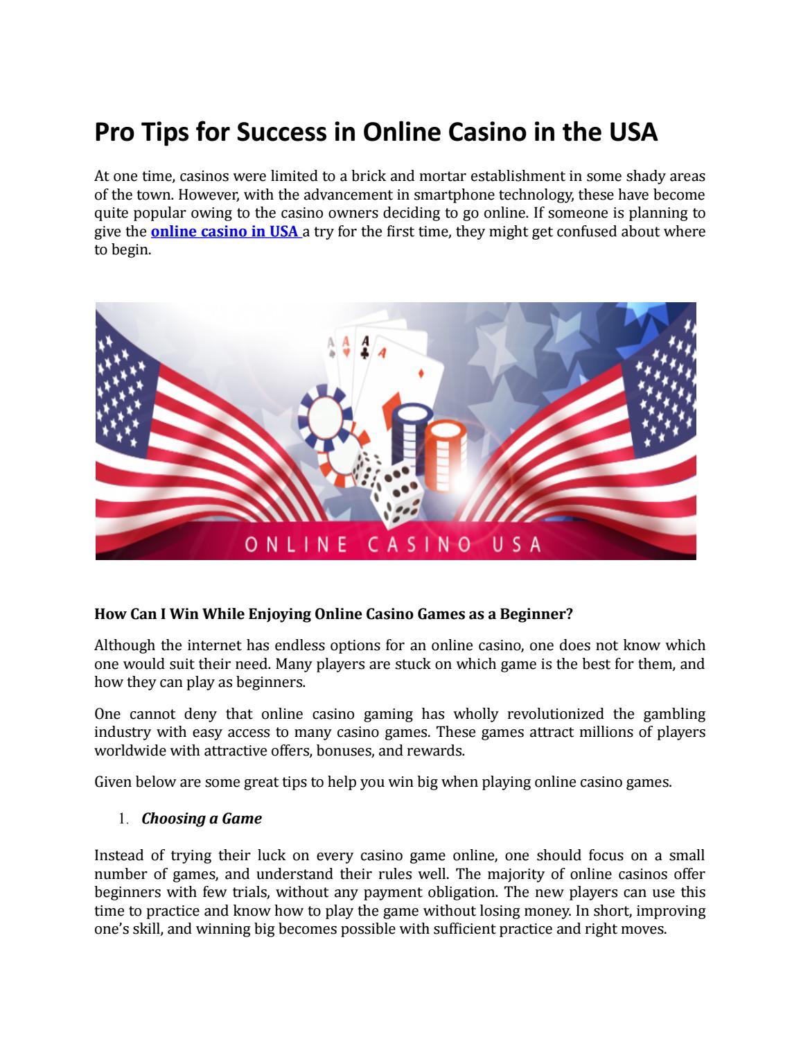 Free Spins No Deposit Mobile Casino Usa By Onthegocasinos Issuu