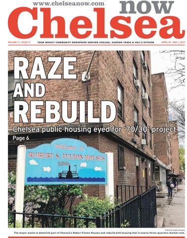 Chelsea Now - April 25, 2019 by Schneps Media - issuu