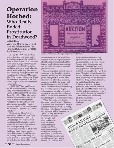 Page 16 of Operation Hotbed: Who Really Ended Prostitution in Deadwood