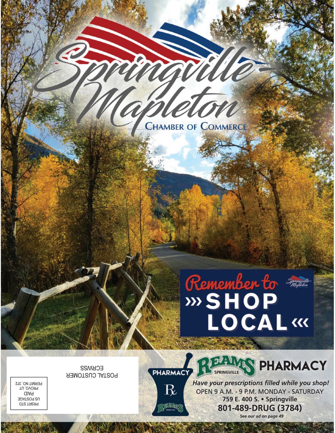 2019 Springville Mapleton Chamber of Commerce Magazine by